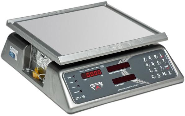BALANÇA PESADORA E CONTADORA DE PEÇAS - 30kg x 10g