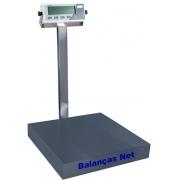 BALANÇA ELETRÔNICA 100kg x 20g - PLATAFORMA AÇO CARBONO 40x40cm - MARTE