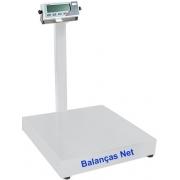 BALANÇA ELETRÔNICA 50kg x 10g - PLATAFORMA 40x40cm - MARTE