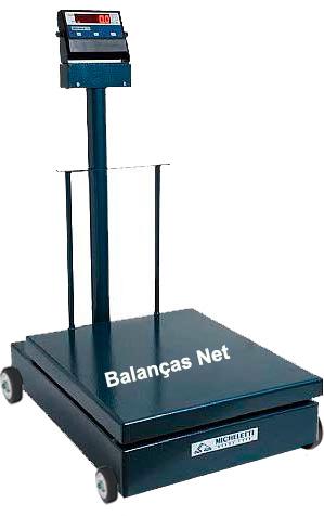 BALANÇA ELETROMECÂNICA 300kg PLATAF.60x70 (MIC-300H 2) MICHELETTI