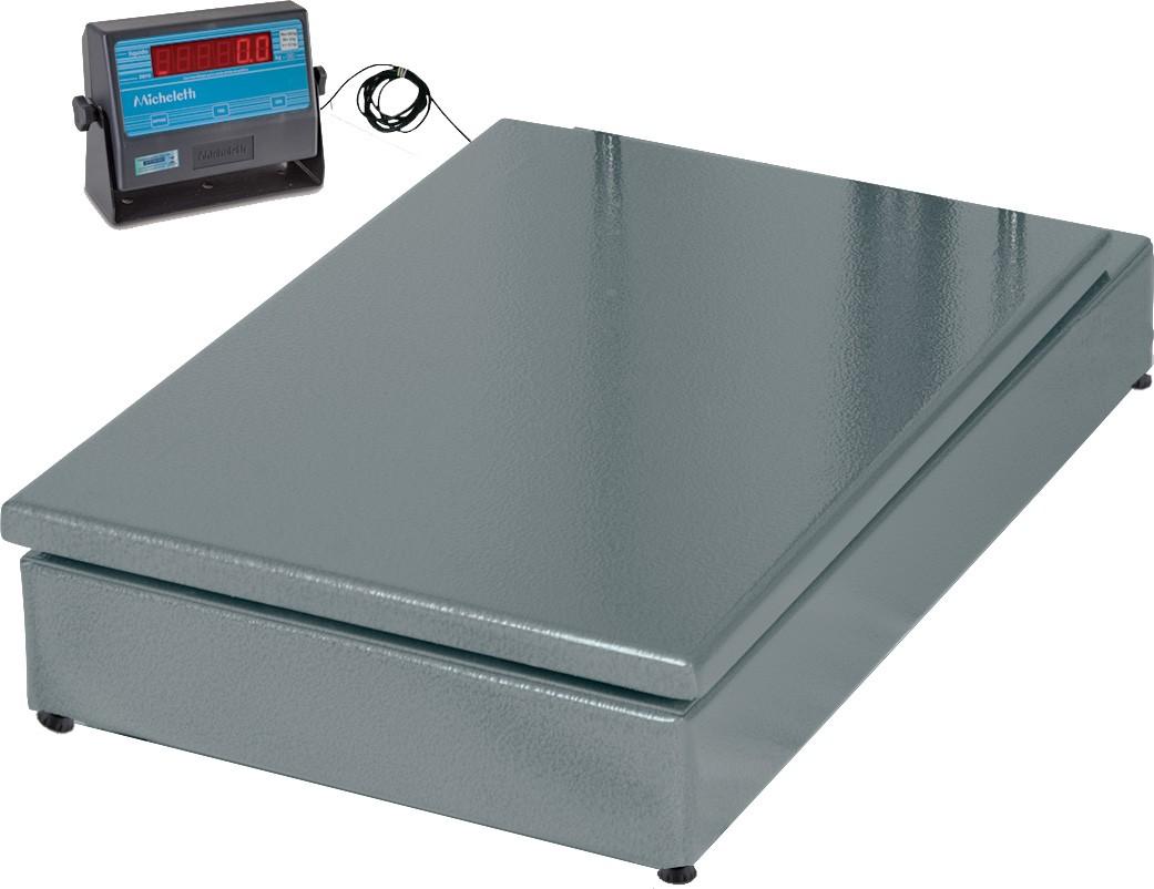 BALANÇA ELETROMECÂNICA 500kg PLATAF.60x70 (MIC-500H) MICHELETTI