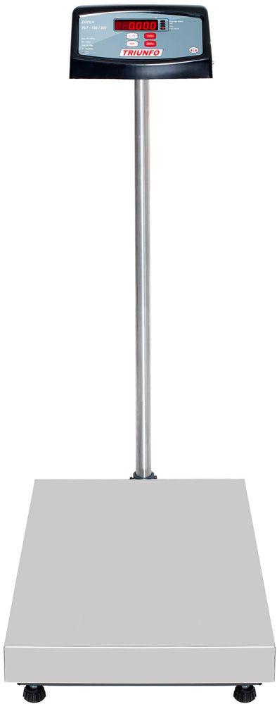 BALANÇA ELETRÔNICA 150kg -  Plataforma 40x60cm - Com Coluna