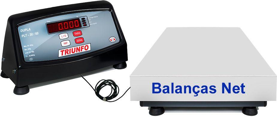 BALANÇA ELETRÔNICA 300kg -  Plataforma 40x60cm - Sem Coluna