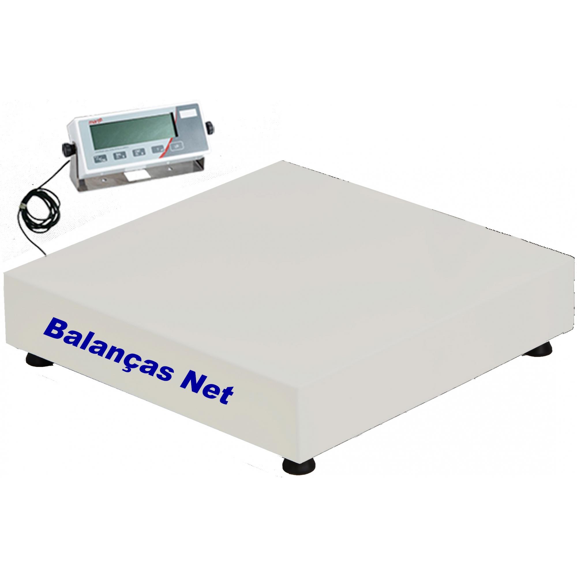 BALANÇA ELETRÔNICA 300kg x 100g - PLATAFORMA 50x50cm - MARTE