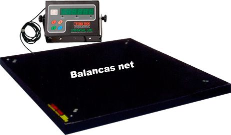 BALANÇA ELETRÔNICA-4CEL- 3000kg - 1,50x1,50m