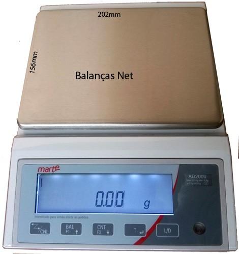 BALANÇA ELETRÔNICA DE PRECISÃO 2kg x 0,01g