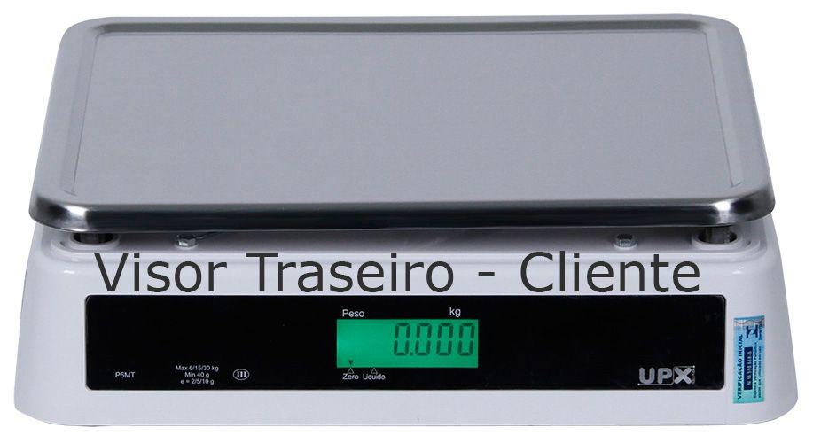 Balança Pesadora Eletrônica 30kg x 2/5/10g - Com Bateria