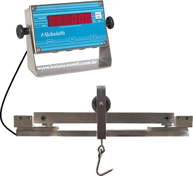Balança Tendal Eletrônica TOTAL INOX 300kg