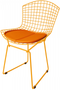 Cadeira Bertoia Tradicional Laranja - Ponta de Estoque