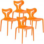 Kit Cadeiras Calligaris Area 51 4x - Diversas Cores - Lote 2015