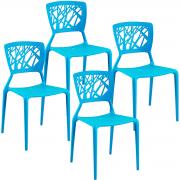 Kit Cadeiras Lily 4x - Diversas Cores - Lote 2015