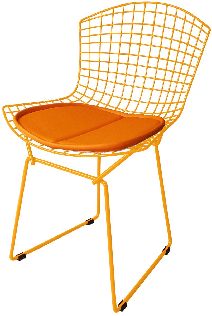 Cadeira Bertoia Tradicional Laranja - Black Friday