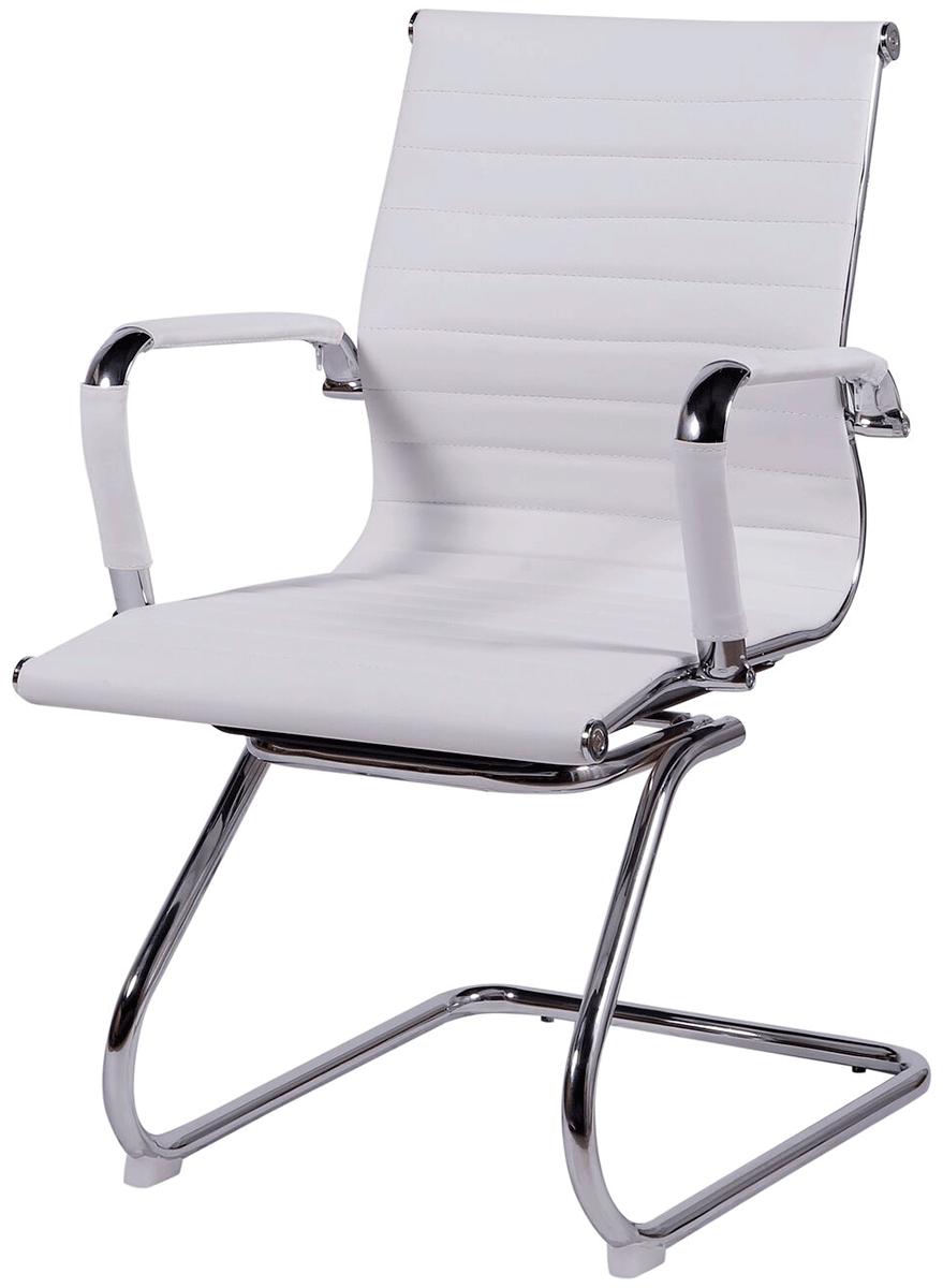 Cadeira Charles Eames Office Esteirinha Corino Fixa Interlocutor - Aquece Black Friday