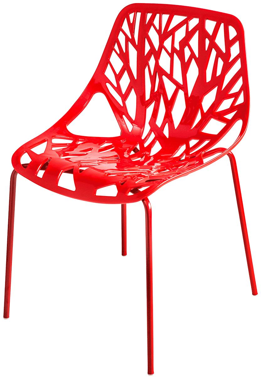 Cadeira Consuelo Ramos Kiruna Vermelha - Ponta de estoque