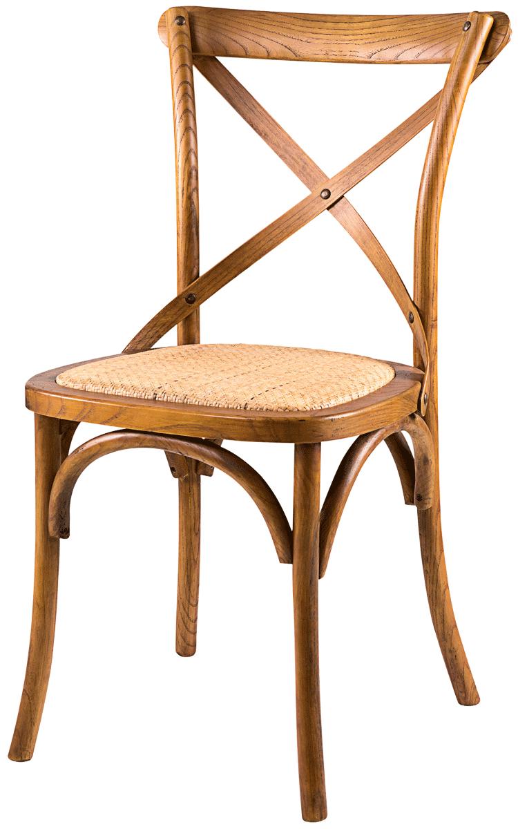 Cadeira Cross Vintage Rustica sem Braço
