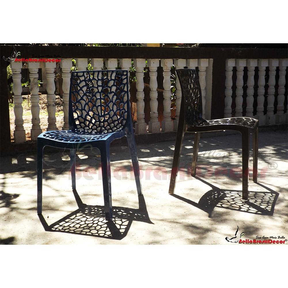 Cadeira Gruvyer Polipropileno Highgloop sem Braço - Aquece Black Friday