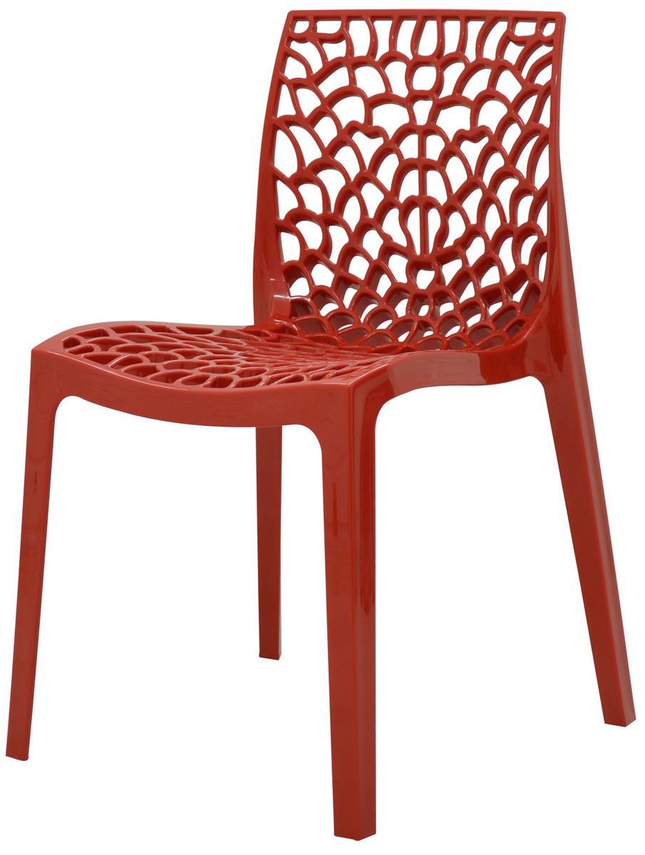 Cadeira Gruvyer em polipropileno sem braços