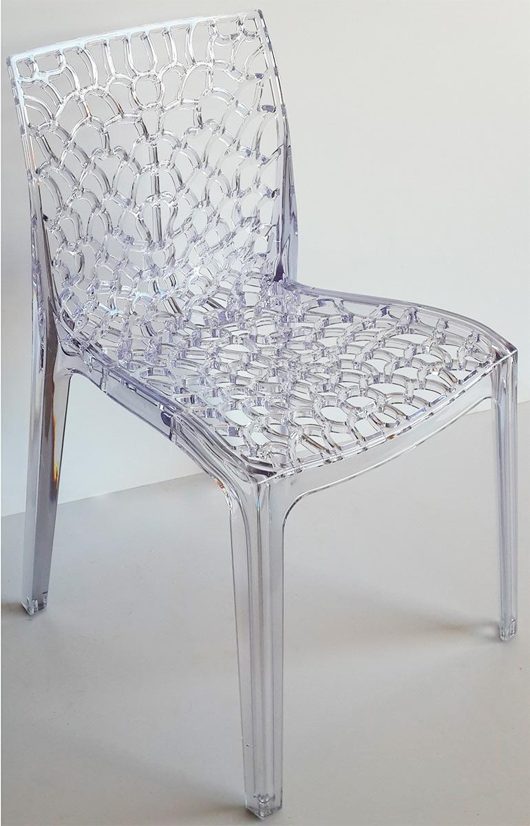 Cadeira Gruvyer Policarbonato Transparente
