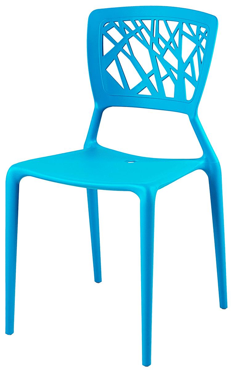 Cadeira Lily - Azul Ponta de Estoque