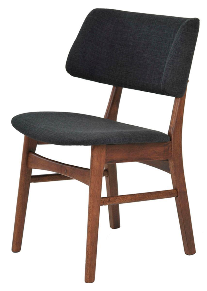 Cadeira Mikaela revestida em linho