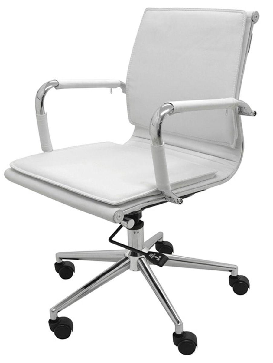 Cadeira Office Esteirinha Varsóvia pu baixa