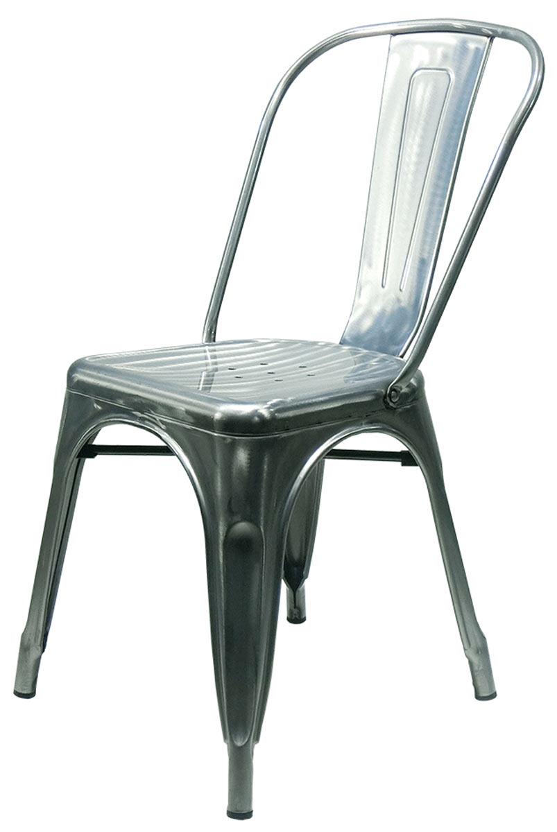Cadeira Tolix Iron Francesinha Rustica natural