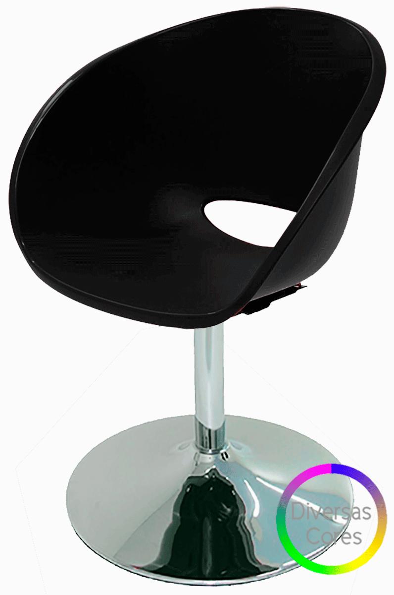 Cadeira Office Base Disco Elena