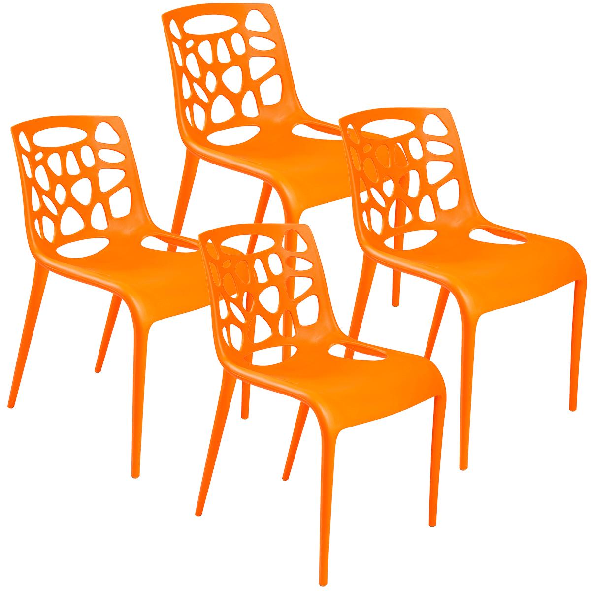 Kit Cadeiras Giovana Kalmar Nara 4x - Diversas Cores - Lote 2015
