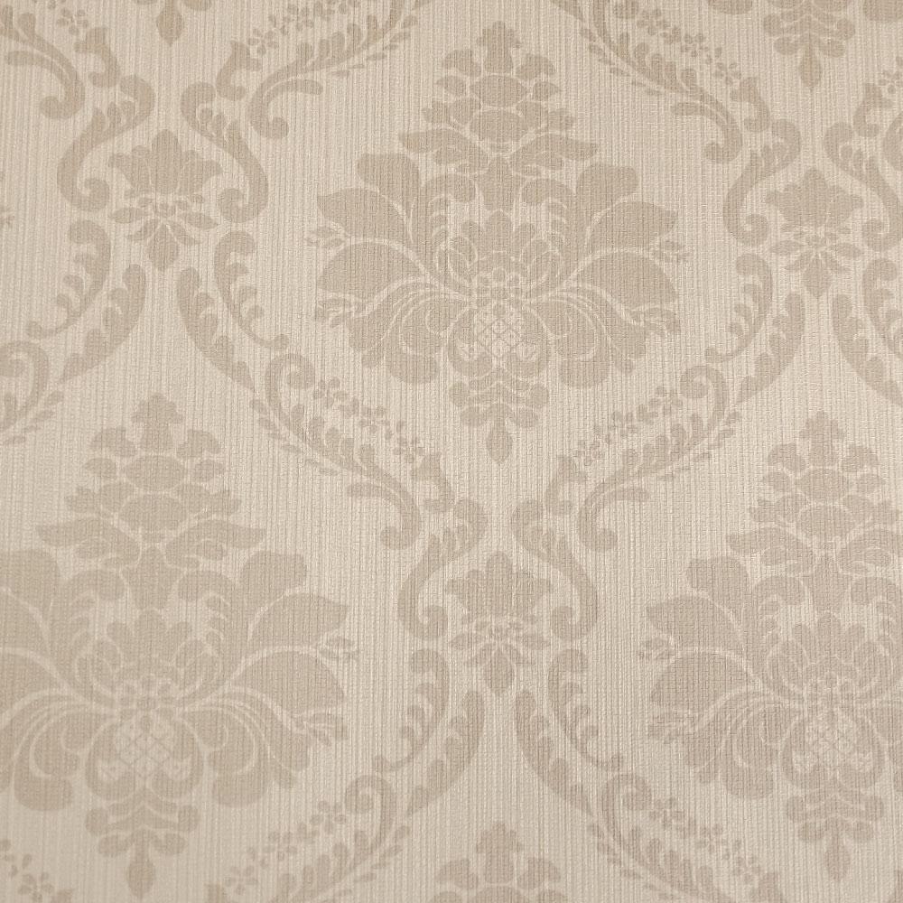Papel de parede arabesco papel de parede bege amendoa for Papel de pared rustico