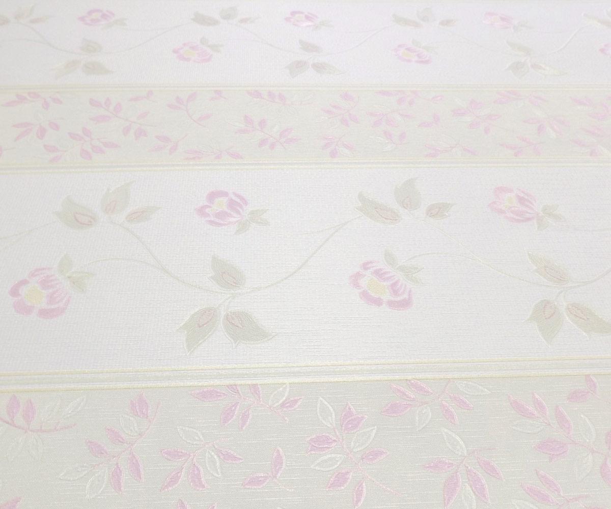 Papel de Parede Bege e Rose Pink Yd50203047