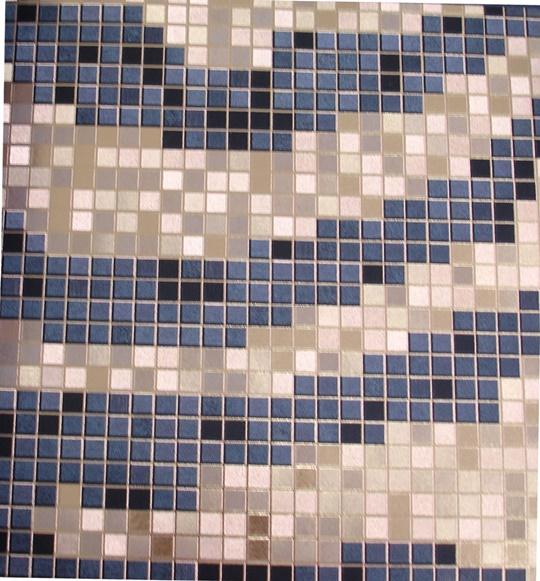 Papel de parede Cinza e Dourado PL3413001