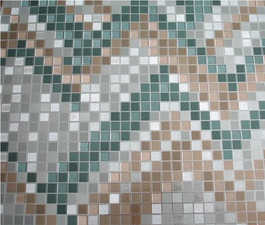 Papel de parede Verde e Branco PL0513206