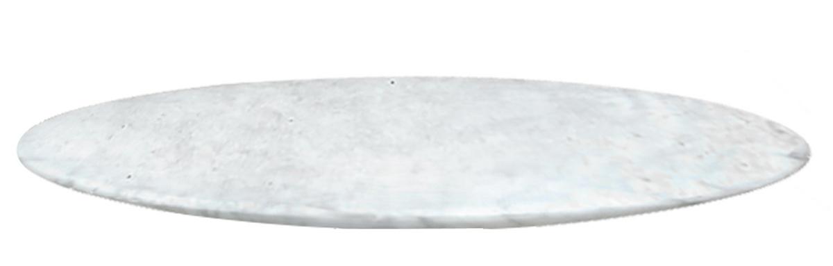 Tampo de Marmore Bella Redondo Carrara