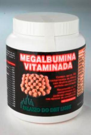 MEGALBUMINA COMPRIMIDOS 500  - PALAZZO DO DIET LIGHT