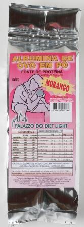 Albumina de Ovo em Pó (Vários sabores) - Grupo Palazzo do Diet Light  - PALAZZO DO DIET LIGHT