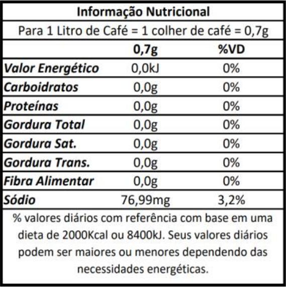 Doçurinha refil econômico - Adoçante Dietético  - PALAZZO DO DIET LIGHT