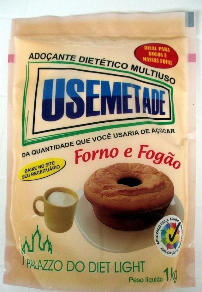 Adoçante Dietético Usemetade - Familia Doçurinha  - PALAZZO DO DIET LIGHT