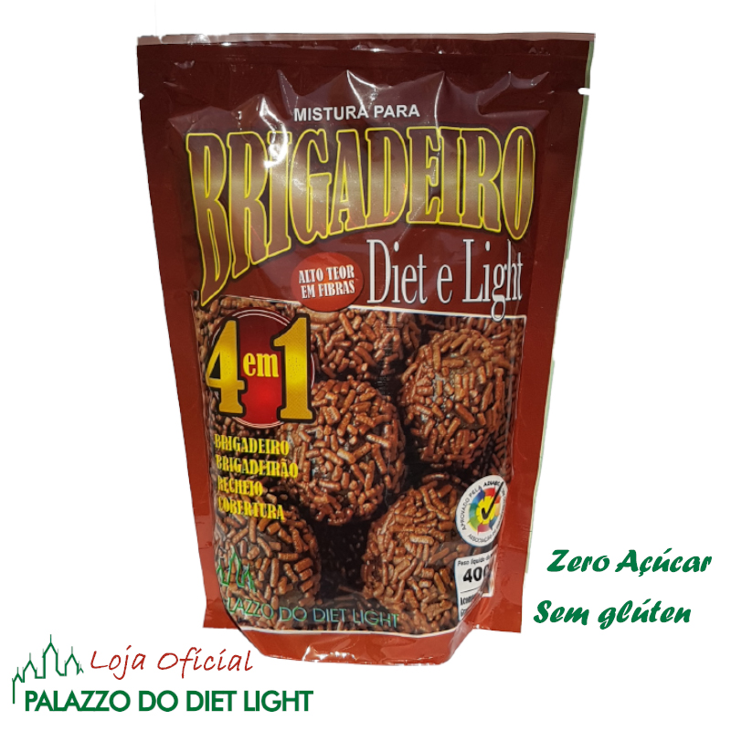 Brigadeiro Diet Light  - PALAZZO DO DIET LIGHT
