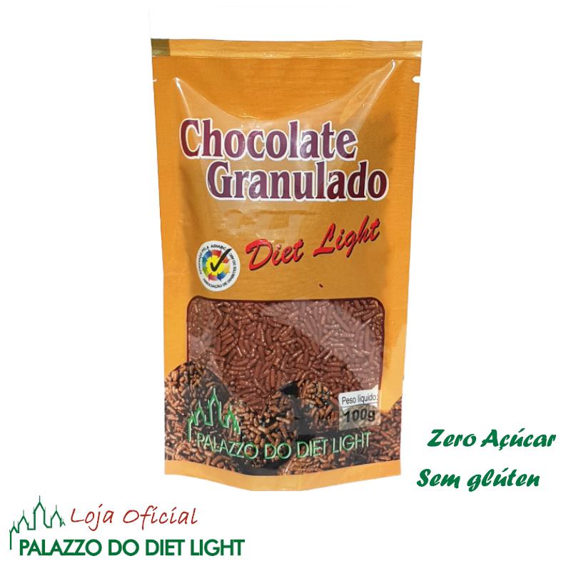 Chocolate Granulado Diet Light  - PALAZZO DO DIET LIGHT