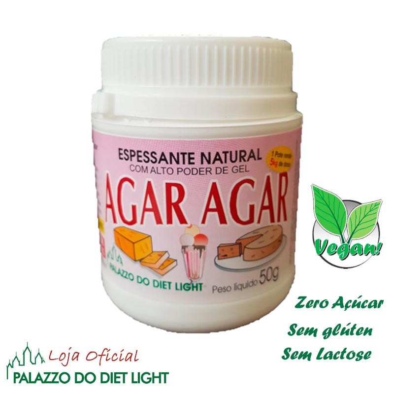 Espessante Natural Agar Agar  - PALAZZO DO DIET LIGHT