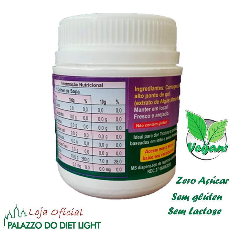Espessante Natural Carragena  - PALAZZO DO DIET LIGHT