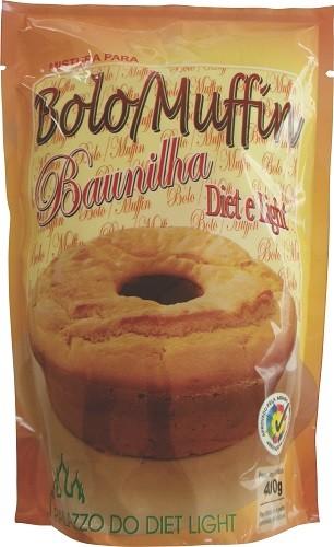 Mistura para Bolo Muffin de Baunilha Diet Light - Família Doçurinha  - PALAZZO DO DIET LIGHT
