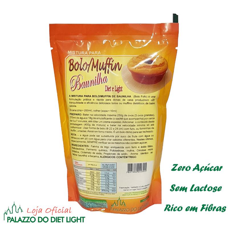 Bolo de Baunilha Diet Light  - PALAZZO DO DIET LIGHT