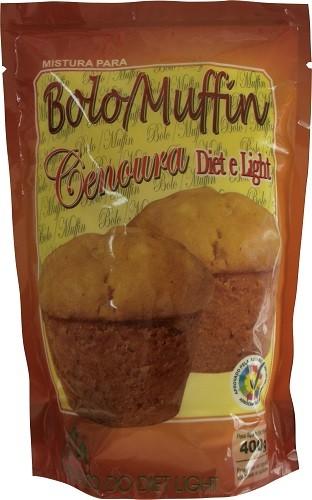 Mistura para Bolo/Muffin de Cenoura Diet Light - Família Doçurinha  - PALAZZO DO DIET LIGHT