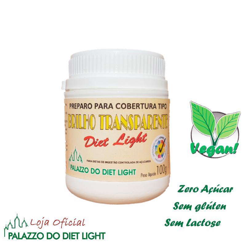Brilho Transparente Diet Light  - PALAZZO DO DIET LIGHT