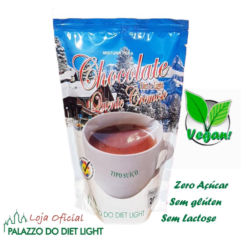 Chocolate Quente Cremoso Diet Light  - PALAZZO DO DIET LIGHT