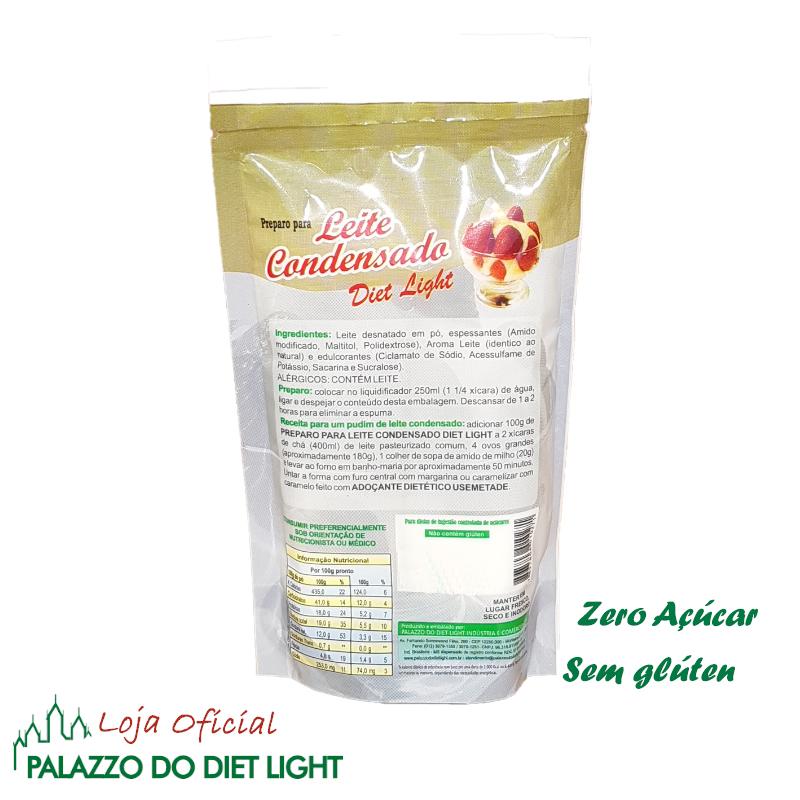Leite Condensado Diet Light  - PALAZZO DO DIET LIGHT