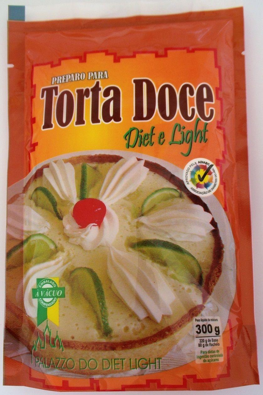 Preparo para Torta Doce Diet Light - Família Doçurinha  - PALAZZO DO DIET LIGHT