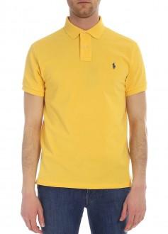 Polo Ralph Lauren Masculina Custom Slim Fit Amarela