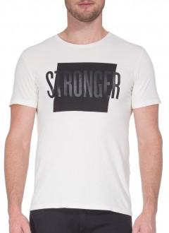 Camiseta Ellus Masculina Stronger Classic Branco
